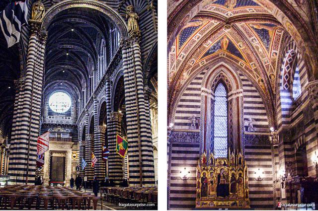 Interior da Catedral de Siena