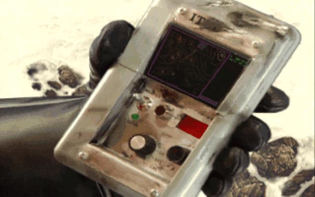 Star Wars Rebel Assault hand scanner
