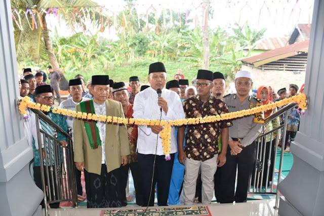 Masjid Nur Sa'adah Diresmikan