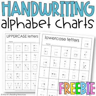 https://www.teacherspayteachers.com/Product/Handwriting-Alphabet-Charts-4813792