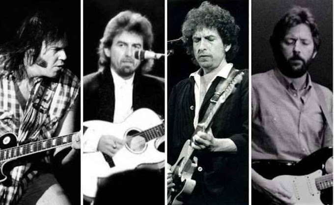 Bob Dylan, Roger McGuinn, Tom Petty, Neil Young, Eric Clapton & George Harrison - My Back Pages