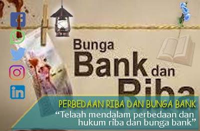 perbedaan riba dan bunga bank