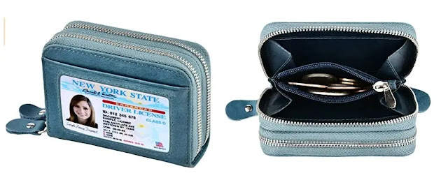 kinzd Accordion Wristlet Wallet for Women review