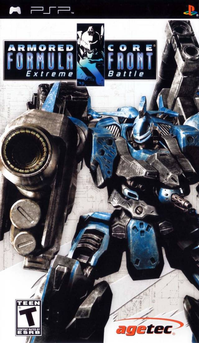 Armored Core - Formula Front Extreme Battle - PSP - ISO Download