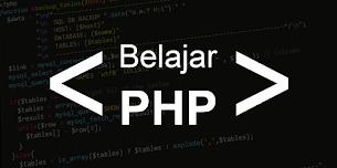 Belajar Dasar Bahasa Pemrograman PHP