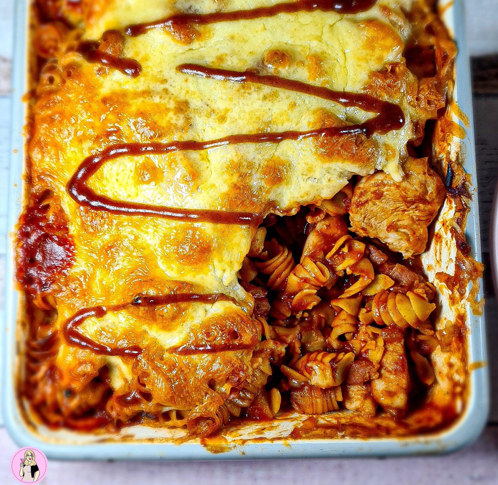 Hunters Chicken Pasta Bake Recipe | Slimming Friendly