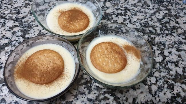 Natillas Clásicas De Huevo