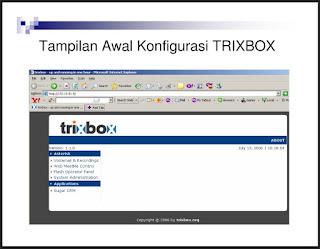 Membuat Server VoIP Dengan TRIXBOX