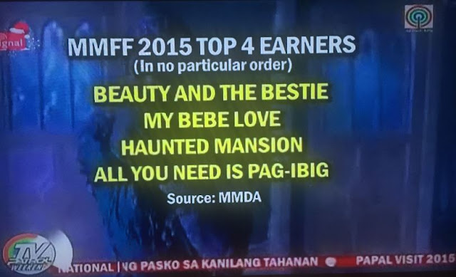 MMFF 2015 Top Earners revealed by MMDA