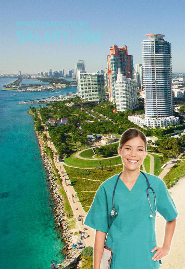 nurse salary in florida