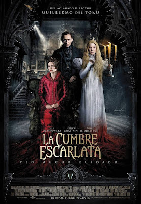 Crimson Peak 2015 DVD R1 NTSC Latino