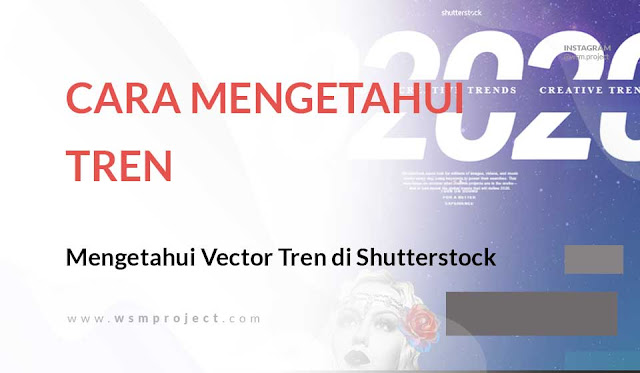 Cara Mengetahui Vector yang Sedang Tren di Shutterstock