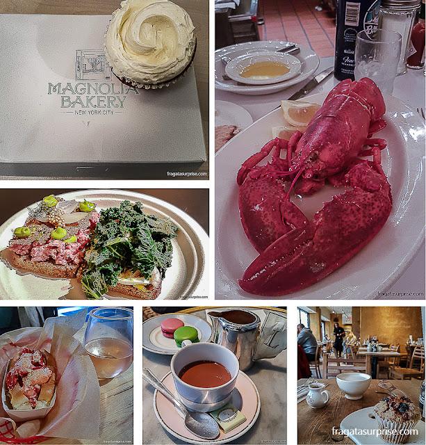Lugares para comer bem em Nova York