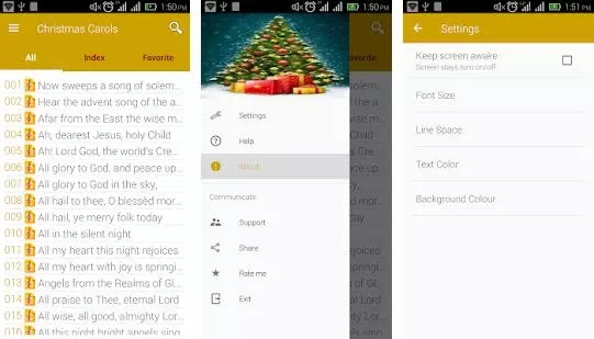 Aplikasi Lagu Natal di Android Terbaik-2