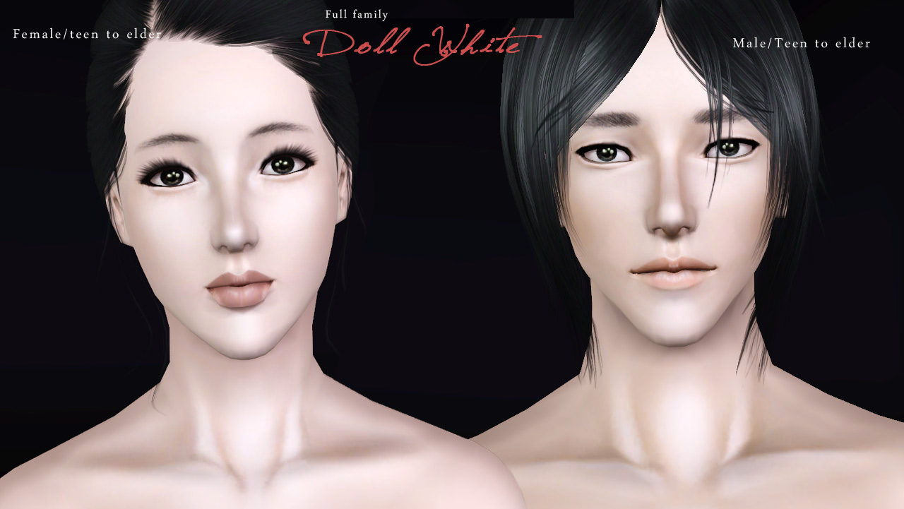 My Sims 3 Blog: Non-default FFDW-skintone by -Mallow-