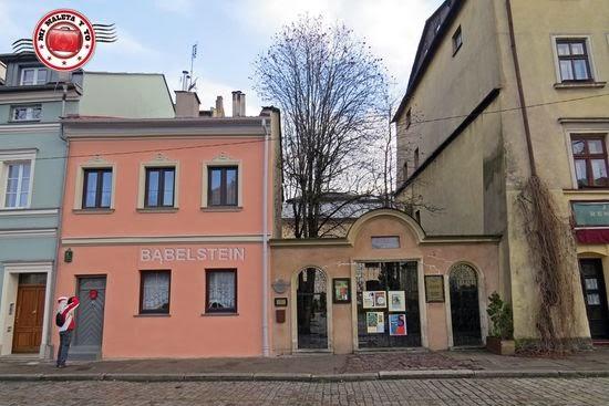 Sinagoga Poppera y casa de nacimiento de Helena Rubinstein en el barrio judío de Kazimierz, Cracovia