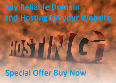 High discount on domain and hosting, domain and hosting