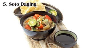 Soto Daging merupakan salah satu ide menu olahan dari daging kurban khas orang Indonesia