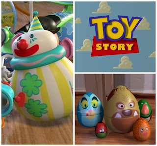 toy story roly poly clown