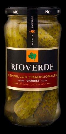 pepinillos en vinagre rioverde