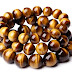 Tiger's Eye stone Natural African Roar Natural  Round Beads bracelet
