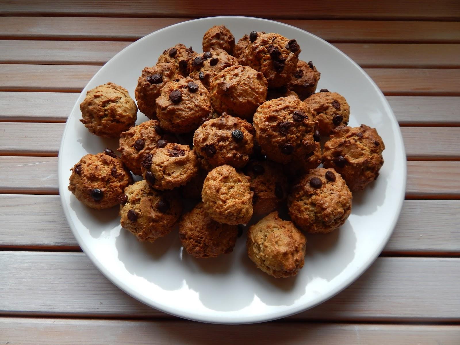 Mini cupcaky s čokoládou