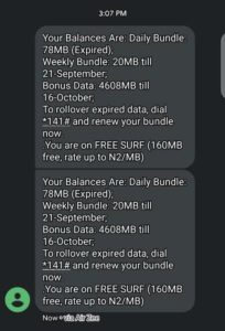 Get 4.6gb for N200  and  23gb for N1000 on airtel