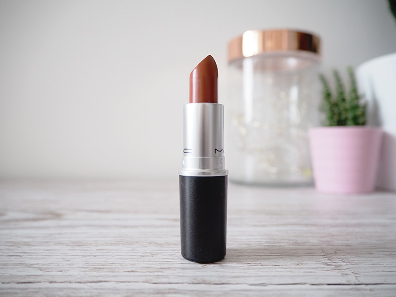 Mac mocha lipstick in the bullet