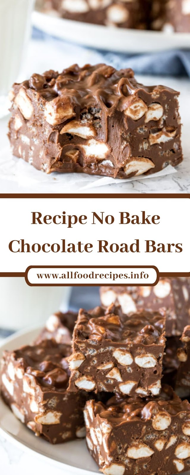 Recipe No Bake Chocolate Road Bars