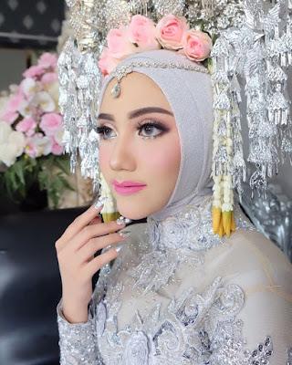 baju nikah hijab 2019, baju akad 2019