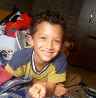 Gabriel esta sendo velado no velório municipal do bairro Nosso Teto em Registro-SP