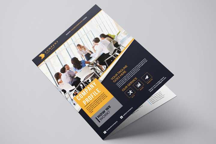 Percetakan Company profile di Banten