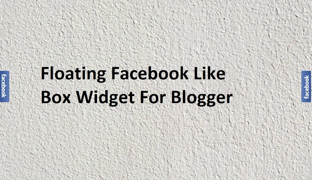 Floating Facebook Like Box Widget