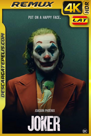 Joker (2019) 4k BDRemux HDR Latino – Ingles