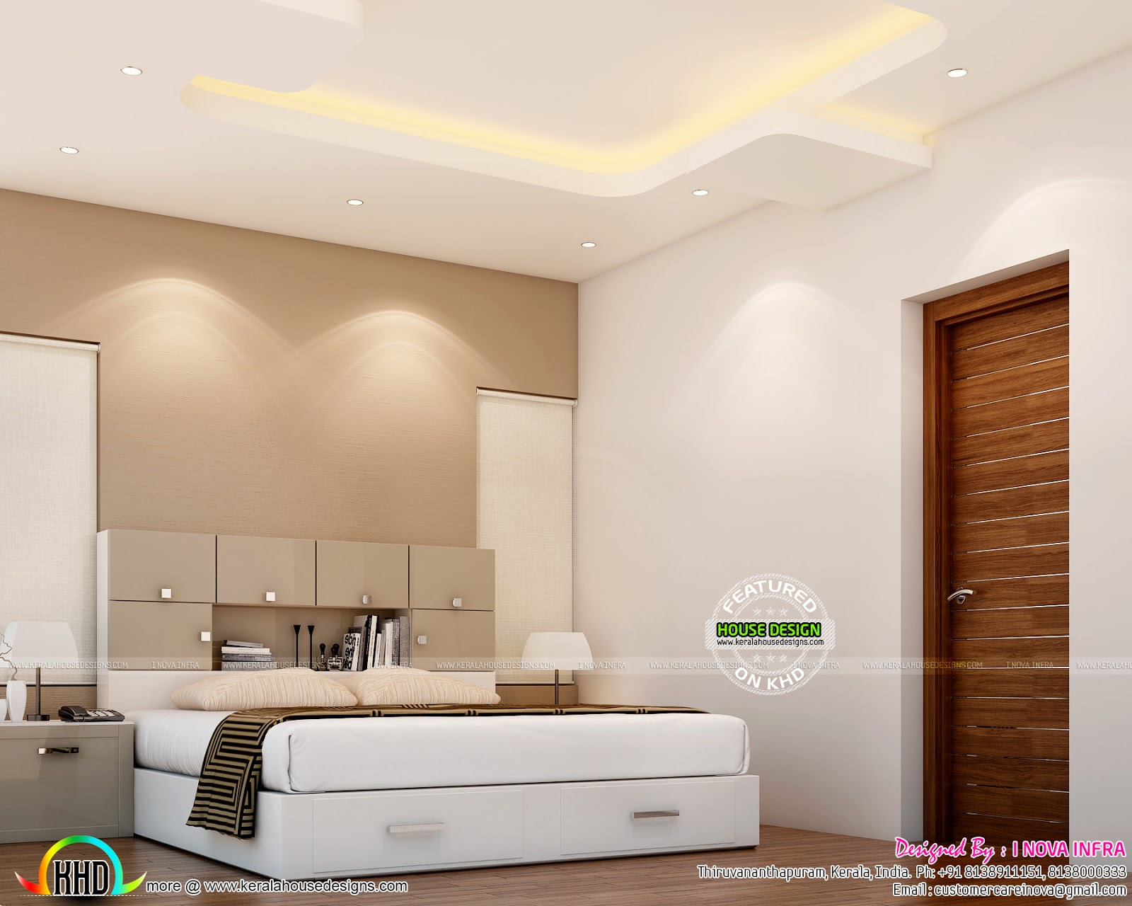 Interior Bed Room Design February 2016 Kerala Home Design And Floor Plans