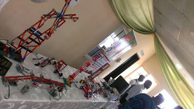 Robotics Takes Centre stage at NSE Ikeja Branch 2017 Project Skill as Engr Akintola harps on Mentoring