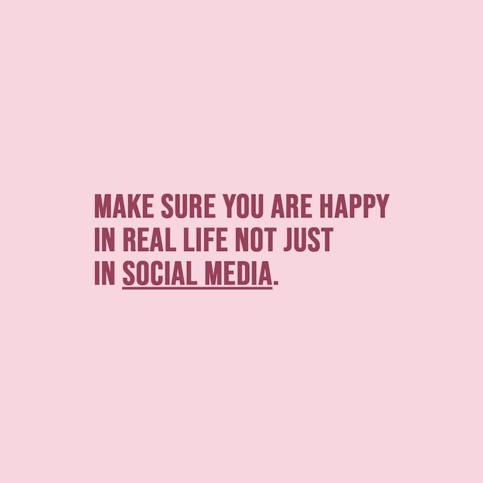 real life, social media, Living for likes