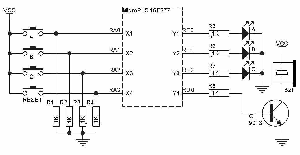 Niguru Com Ladder Diagram Untuk Tombol Kuis Adu Cepat Dan Penjelasan Teknik Perancangannya Langkah Demi Langkah Part 1