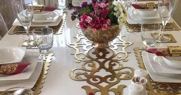 كيكة و تحلية اروع و اشيك مفارش طاولات الاكل موديلات تركية 2018 المجموعة الاولى 1 Turk Chik Nappes