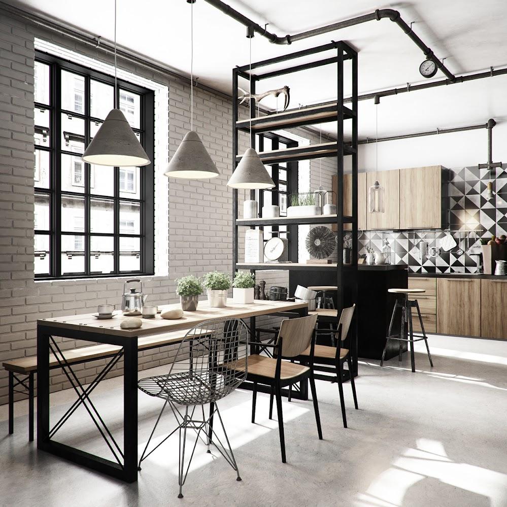 brick-wall-dining-room