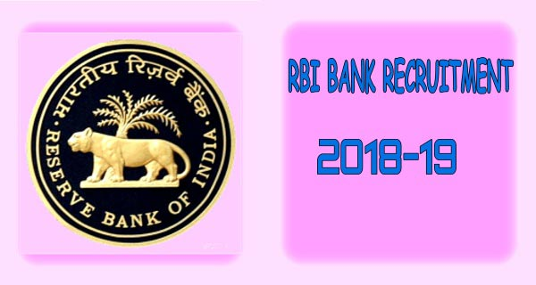 RBI Apply Online, RBI Bank recruitment, RBI vacancy