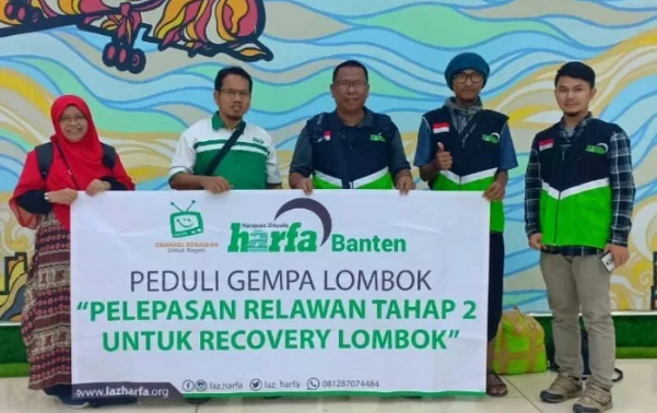 Open Recruitment Relawan Ramadhan Laz Harfa Banten