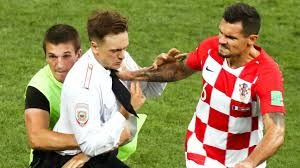World Cup pitch invaders sentenced to jail