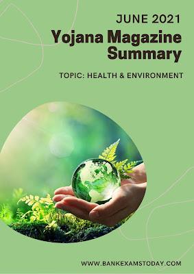 Yojana Magazine Summary: June 2021