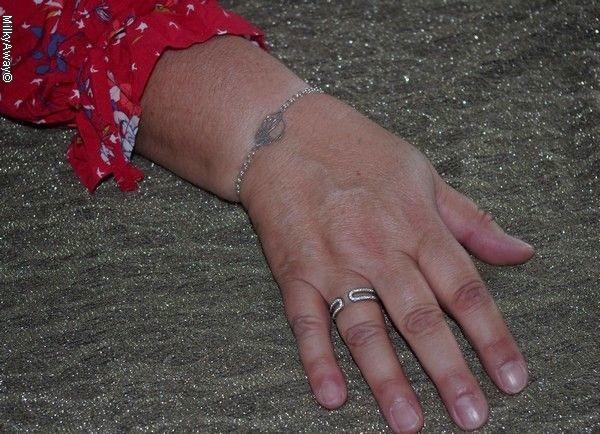 Cadeau fête des mères bracelet chouette Jez Debugey