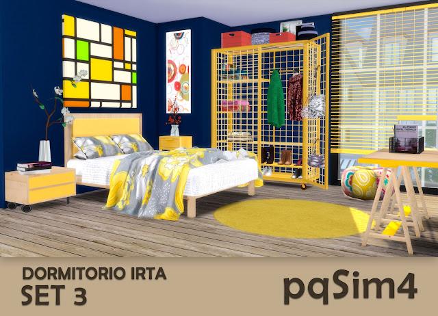 Set nº 3 del dormitorio Irta 4