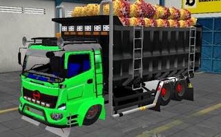 Hino Dump truck muat Sawit