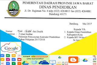 Pedoman Penyusunan Kalender Pendidikan Tahun Pelajaran 2017-2018 pdf