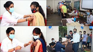हर उम्र, हर तबके के लोगों में टीका लगवाने के प्रति दिखा अच्छा खासा उत्साह
