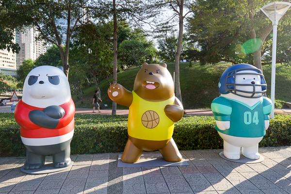 台中耶誕嘉年華影展免費觀賞6部電影,還有熊熊遇見你裝置藝術好好拍